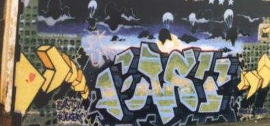 Early Banksy in Easton