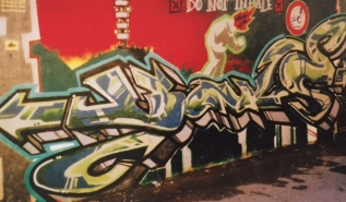 Do not inhala - Early Banksy