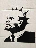 1997 - UK - Weston super mare - Lenin punk - Canvasartrocks.com
