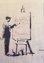 1998 - SA - UK - Bristol - Artist at work - HSH p46