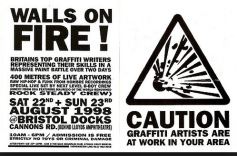 1998:8 - Flyer - Walls on Fire