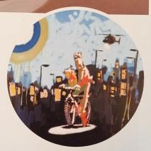 1999 - Original - Early Easton exhibition - Sticker - HSH p45