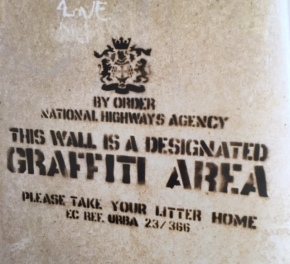 1999 - SA - UK - Bristol - Designated graffiti area - HSH p24