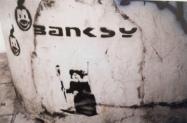 1999 - SA - UK - Bristol - Rat painting Banksytag - HSH p27