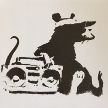 1999 - SA - UK - Bristol - Rat w ghetto blaster HSH p72