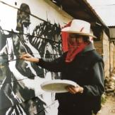 Banksy at work in Chiapas