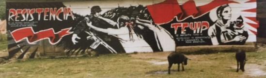 Mural in Chiapas