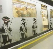 2001 - SA - UK - London - District Line - Rats w rifles - Existencilism p25