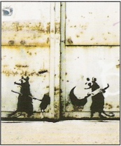 2001 - SA - UK - Rats w hammer and sickle - Existencilism p22