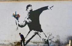 Banksy in Jerusalem - 2003