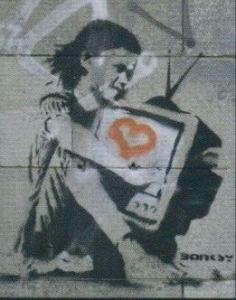 Banksy in Berlin - 2003