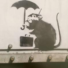 Banksy in Tokyo - 2003