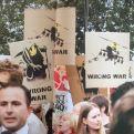2003 - SA - UK - London - Placards - Wrong war - Wall and piece p226