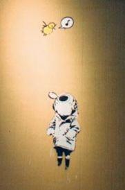 2003:07:18 - Original - Child w diving suit lookin at bird - Turf War