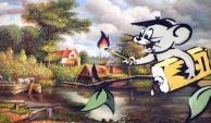 2003:07:18 - Original - Mouse w gasoline - Turf War - liborius
