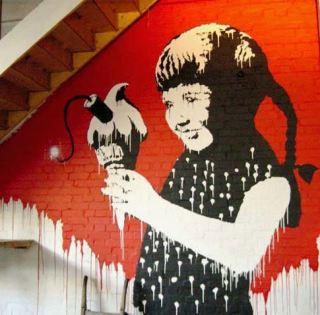 2003:07:18 - Original - Turf War - Girl eating ice cream bomb - Benny Goh