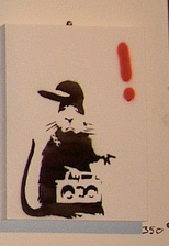 2003:12 - Original - Santas Ghetto 2003 - Rat w ghettblaster - Wembley Pairs Flickr