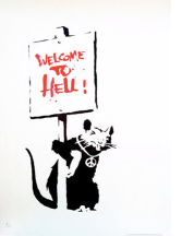 2004 - Placard Rat - Welcome to Hell