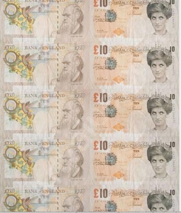 2004 - Prints - Di faced tenner - 50