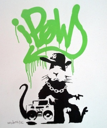 2004 - Prints - Gangsta Rat (Green) - 20
