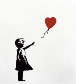2004 - Prints - Girl w balloon - 750