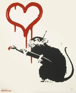 2004 - Prints - Love Rat - 750