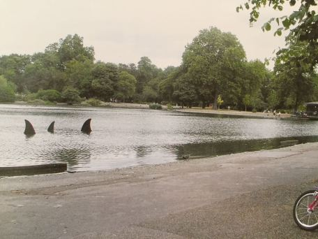 2005 - SA - UK - London - Sculpture - Sharkfin - Wall and piece p221