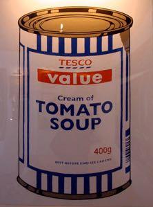 2005:10:15 - Original - Crude Oils - Tomatoe Soup - Wall and piece p179