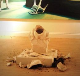 2005:10:15 - Original - Sculpture - Crude Oils - Broken bust - jeyku