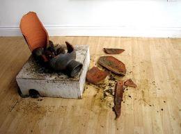 2005:10:18 - Original - Crude Oils - Broken Vase - Simon Crubellier