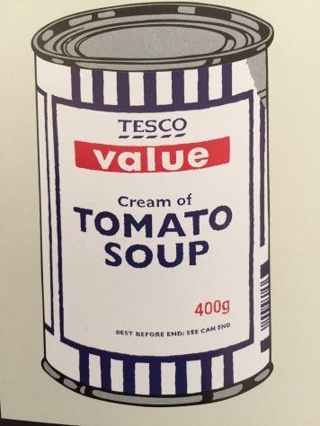Tesco soup at MoMA