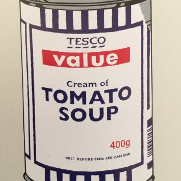 Tesco soup at MoMA