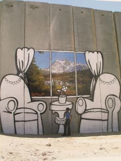 2005:8 - SA - West Bank - Sofa Betlehem Checkpoint - Wall and Piece p143