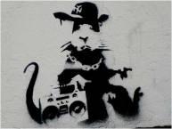 2006 - SA - UK - London - Gangsta rat w ghettoblaster