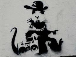 2006 - SA - UK - London - Gangsta rat w ghettoblaster