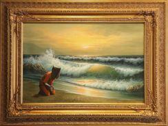 2006:09:16 - Original - Barely Legal - Guantamo prisoner on beach LA
