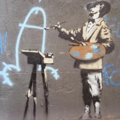 2007 - SA - UK - London - Bethnal green - Vandalism is art - Where's Banksy p87