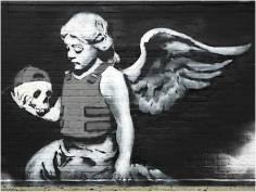 2007 - UK - London - Angel in bulletproof vest - Banksyweb