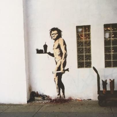 2008 - SA - USA - Beverly Hills - Caveman - Where's Banksy p103
