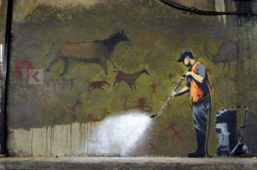Banksy: Graffiti remover