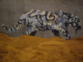Leopard. Banksy