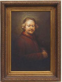 2009 - Original - Rembrandt w googly eyes - Artnet