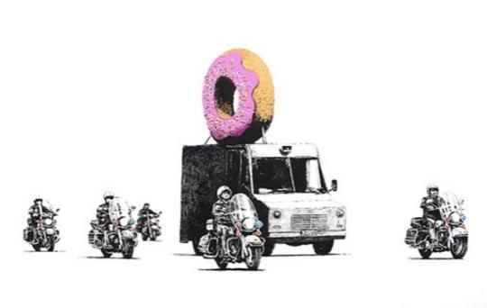 2009 - Prints - Donut (Pink) - 299