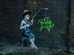 2009:12:20 - London Camden - Boy fishing - Arrested motion