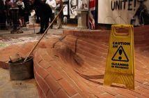 2009:7 - Original - Installation - BvBM - Caution wet floor - unknaown source
