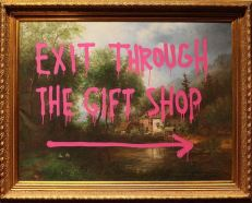 2009:7 - Original - Oil - BvBM - Exit through the gift shop - unknown source