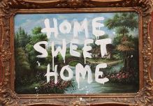 2009:7 - Original - Oil - BvBM - Home Sweet Home - unknown source