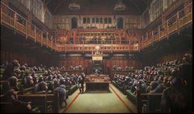 2009:7 - Original - Oil - BvBM - Monkey Parlament - Arrested Motion