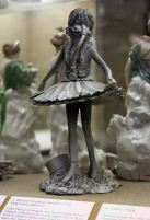2009:7 - Original - Sculpture - BvBM - Ballerina w actionman parts - unknown source