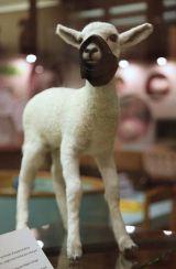 2009:7 - Original - Sculpture - BvBM - Lamb in a muzzle - unknown source